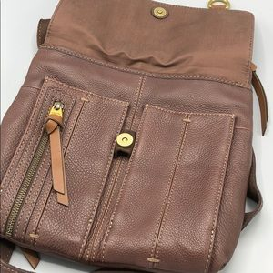 0efb55b7539 Fossil Bags | Morgan Traveler Espresso Leather Crossbody | Poshmark